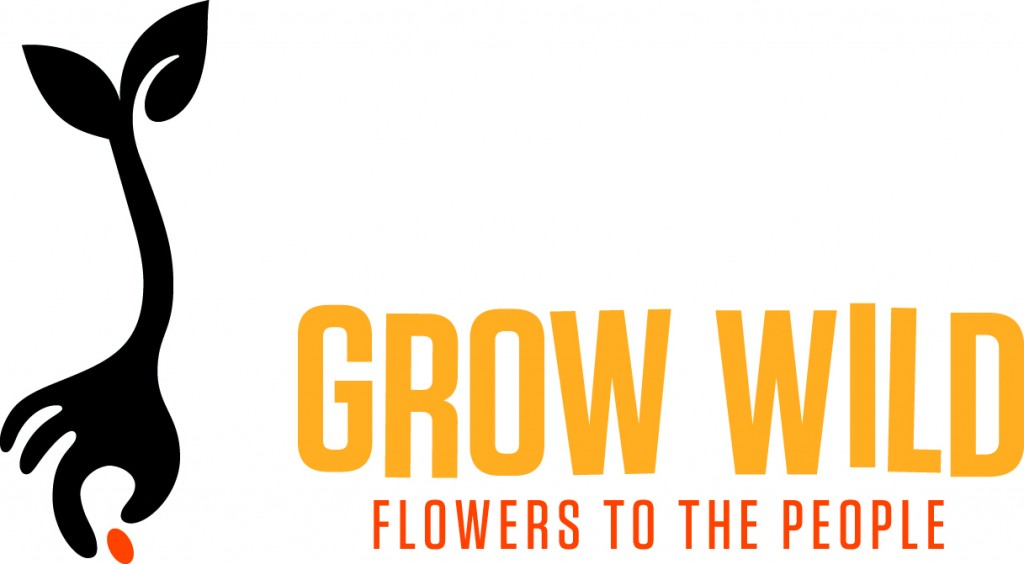 Grow Wild text logo